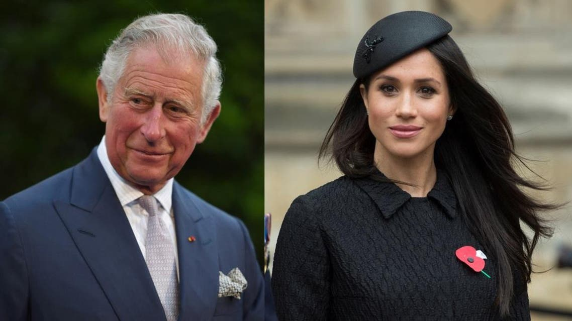 Meghan Markle and Prince Charles. (Reuters)