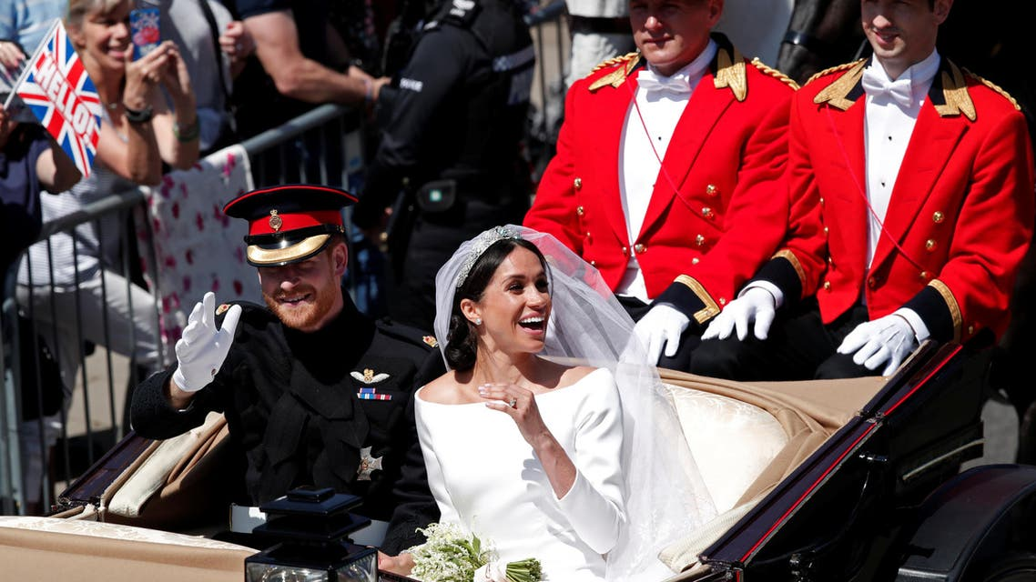 Royal Wedding: Harry and Meghan tie the knot
