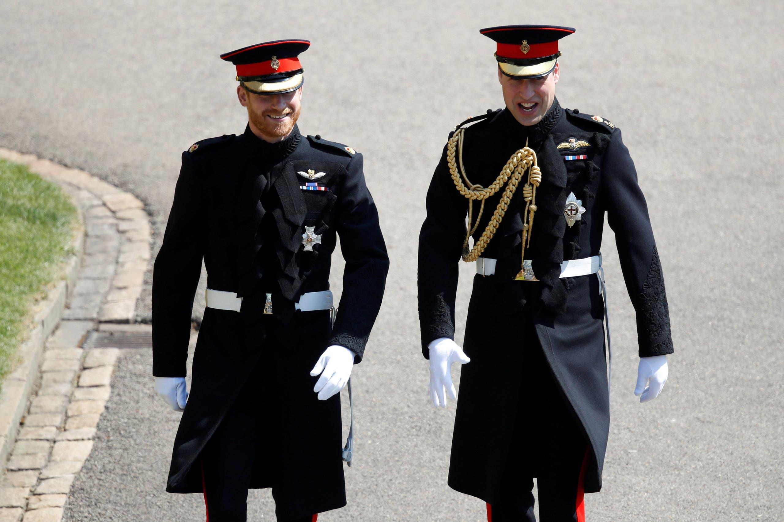 الأميران وليام وهاري