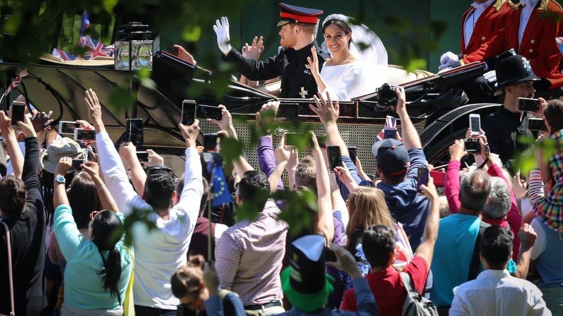 زفاف هاري ومايكل
