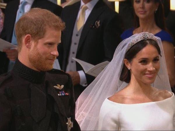 إعلان الأمير هاري وميغان ماركل زوجين رسميا