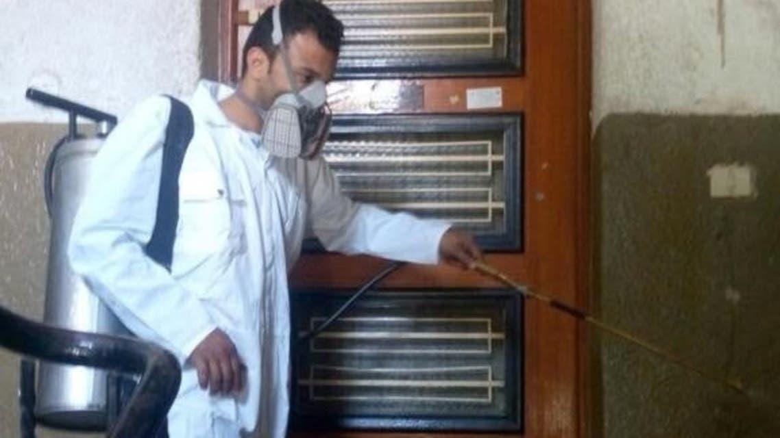 صورة الحشرة وتعامل وزارة الصحة معها