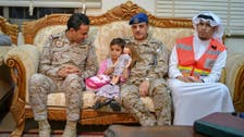 Coalition hands Yemeni government infant girl used as human shield by Houthis