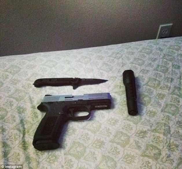 سلاح الجريمة