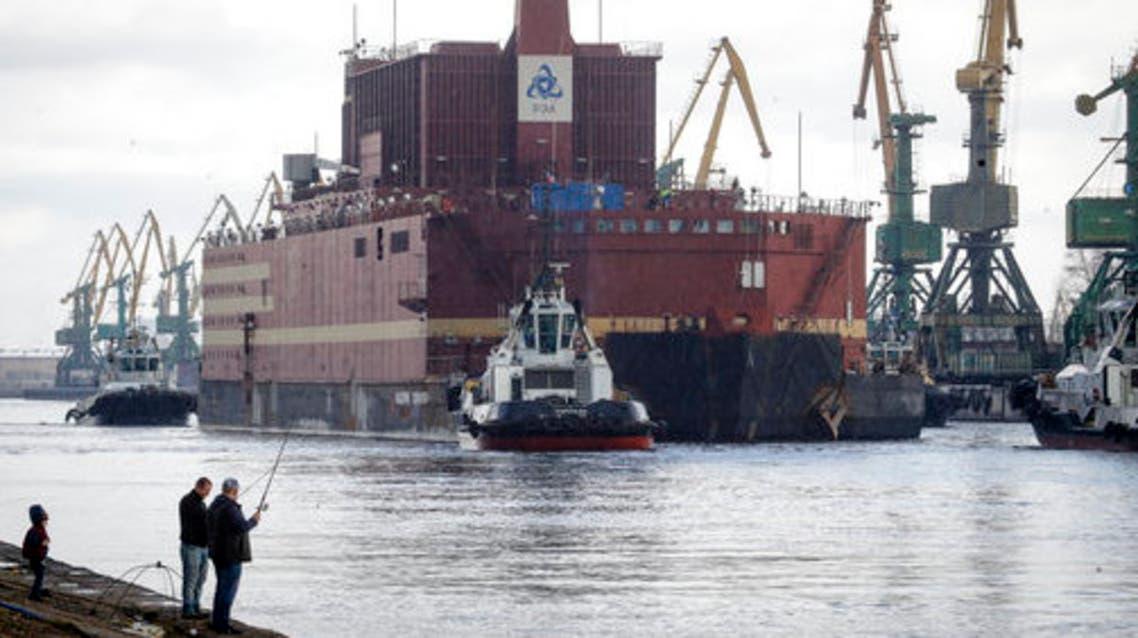 مفاعل روسي نووي عائم