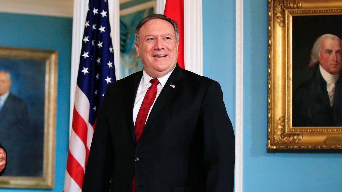 """In his first foreign policy speech on Monday, Pompeo will call for broad support to address """"the totality of Iran's threats."""" (AP)"""