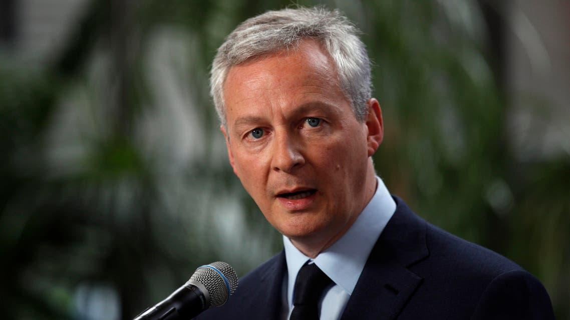 France finance minister bruno le maire. (AP)