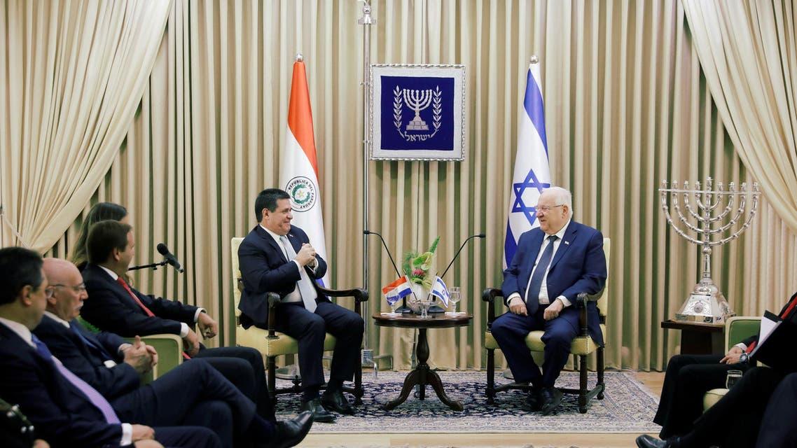 Paraguay embassy jerusalem israel. (Reuters)