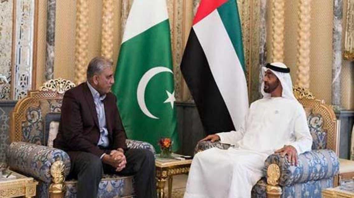 Pakistan army chief meets UAE Crown Prince