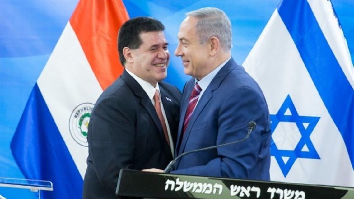 نتنياهو يرحب الأحد في القدس المحتلة برئيس الباراغواي