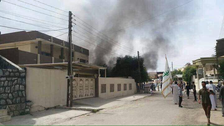 إحراق منازل في كركوك
