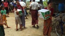Saudi Arabia's KSRelief Center continues distributing food baskets in Myanmar