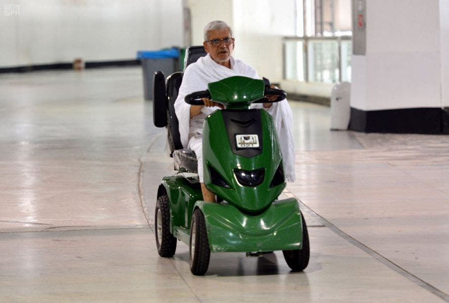 mecca scooters. (SPA)