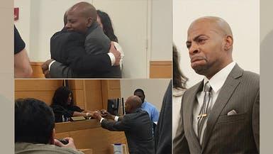 شاهد ماذا فعلت البراءة بمسجون ظلماً لـ27 سنة!
