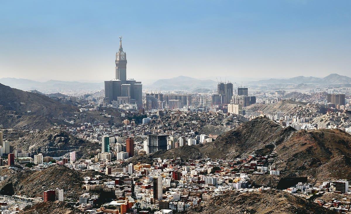 An aerial view of Mecca in Saudi Arabia. (Shutterstock)
