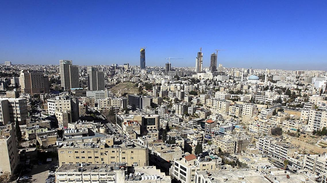 A picture taken on January 19, 2013, shows a general view of the Jordanian capital Amman. (AFP)