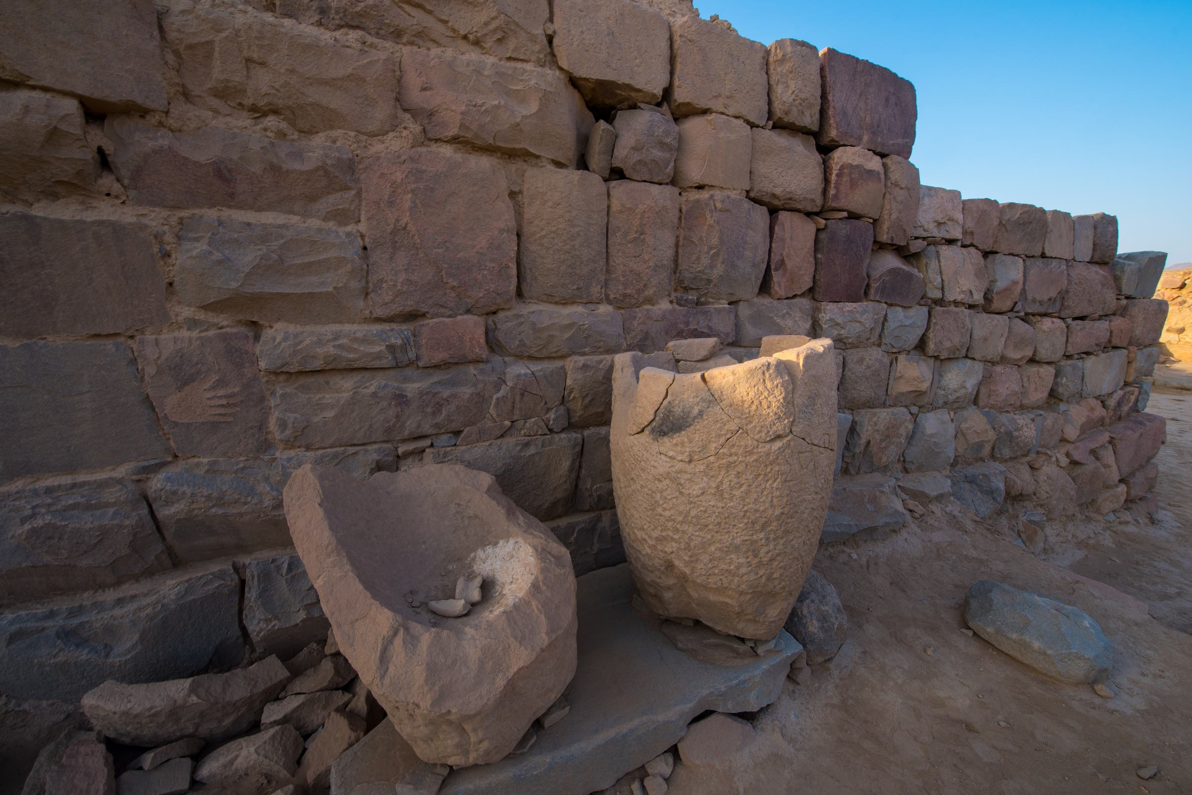 Saudi-French excavation mission in Najran find coins dating back 1st century AD