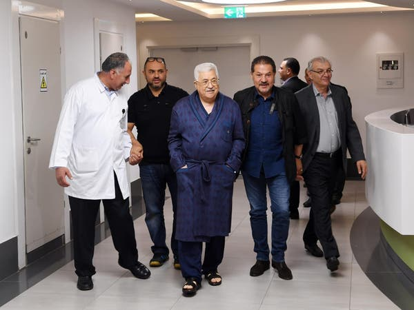 شاهد الرئيس الفلسطيني في المستشفى