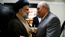 الصدر يلتقي إياد علاوي في بغداد