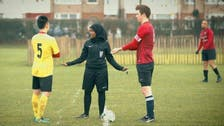 Somalian becomes first Muslim woman to referee a football match in Britain