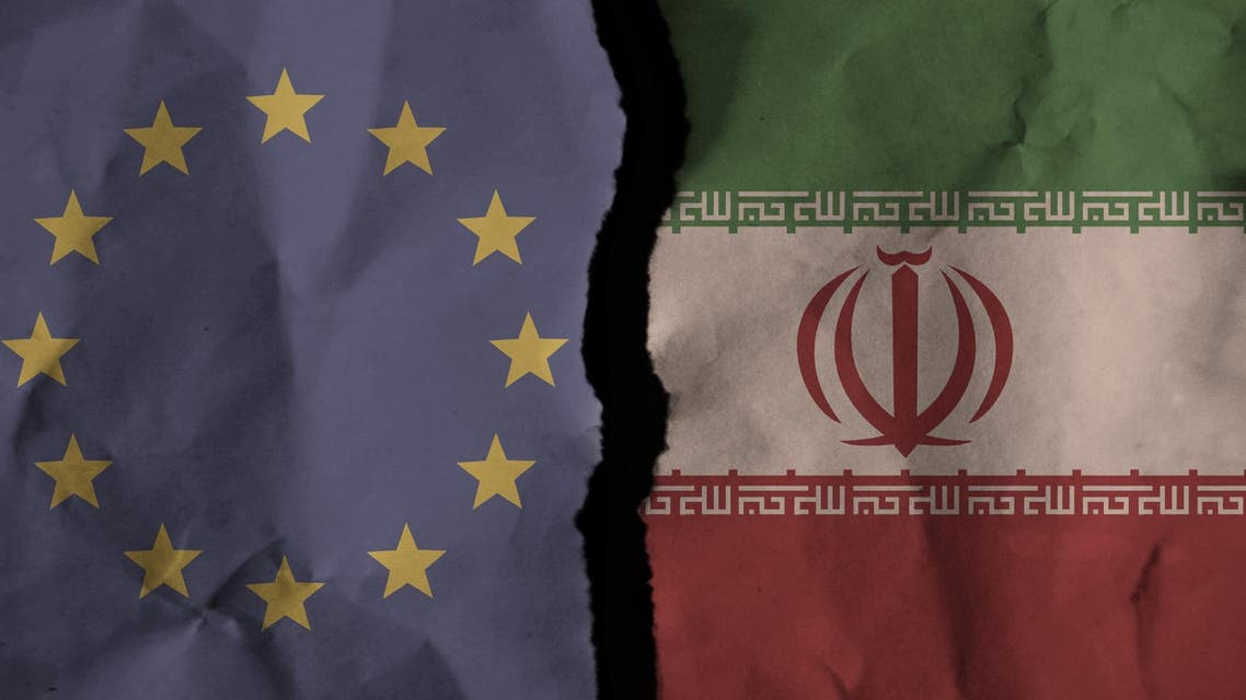 eu europe iran flag