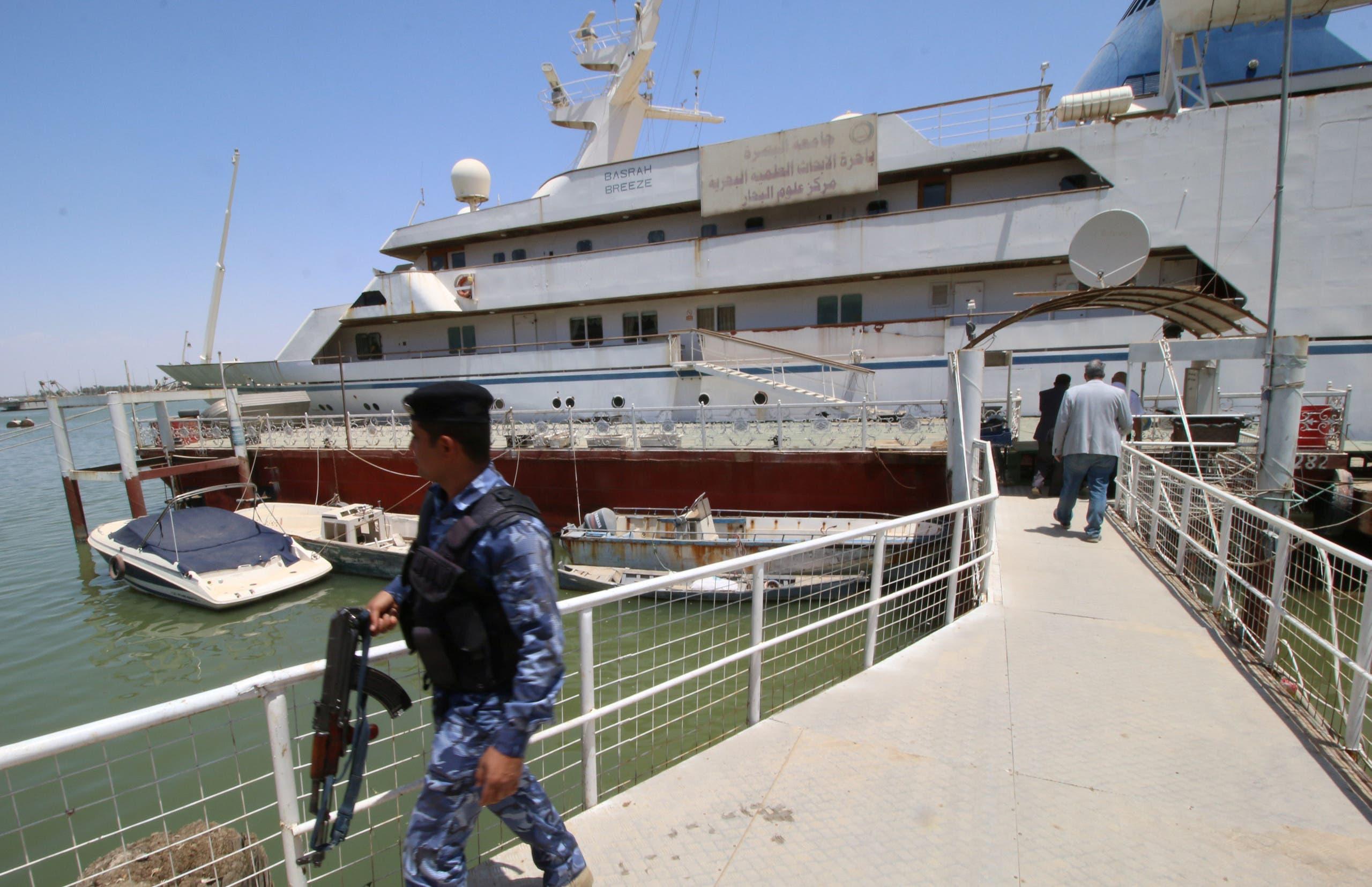 Saddam Hussein Yacht Basra. (Reuters)