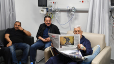 Palestinian President Mahmoud Abbas' release from hospital delayed