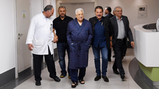 Palestinian President Abbas leaves hospital after eight-day stay