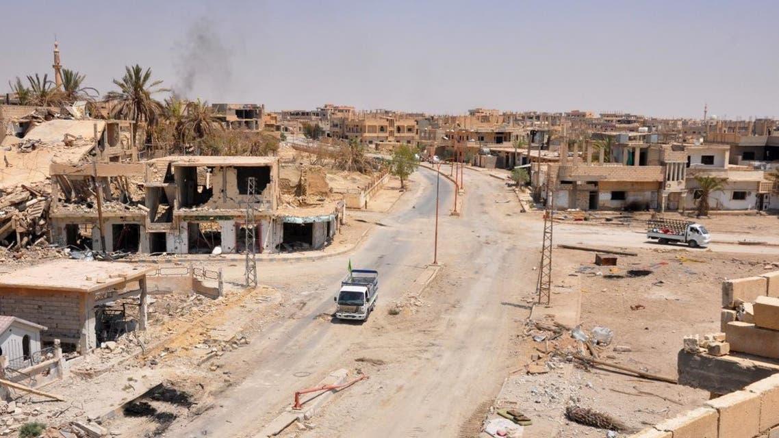 بیابان سوریه