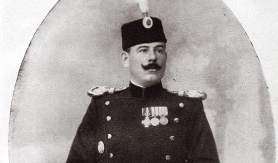 صورة لمؤسس منظمة اليد السوداء الصربية دراغوتين ديميترييفيتش