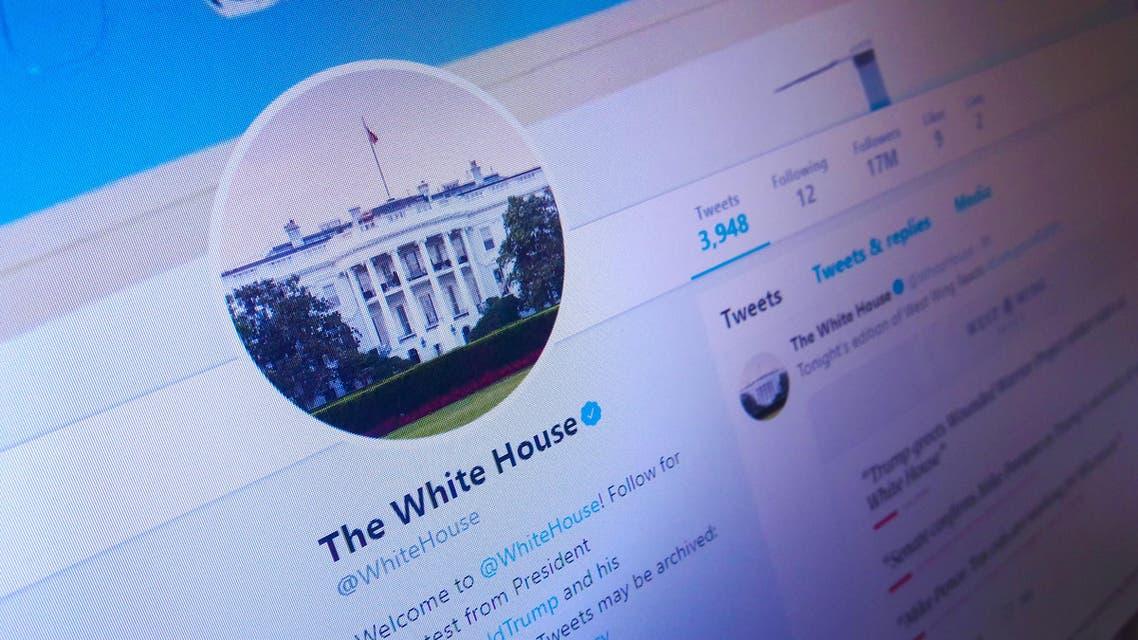 Twitter/Whitehouse. (Shutterstock)
