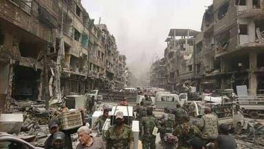 فضيحة بالصور.. جيش الأسد ينهب مخيم اليرموك