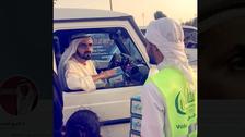 WATCH: Dubai ruler surprises Ramadan volunteers at iftar time