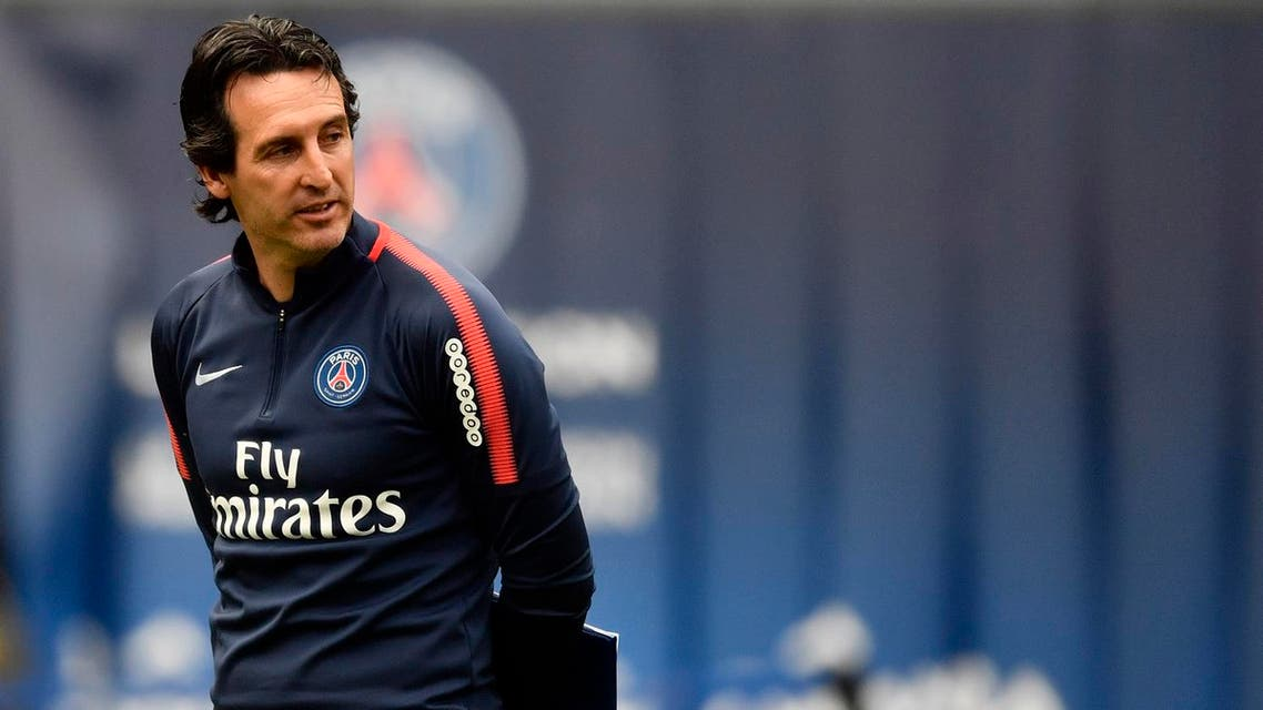 Unai Emery, former headcoach of Paris Saint-Germain, has been appointed as the new manager of Arsenal, the club announced on May 23, 2018.(AFP)