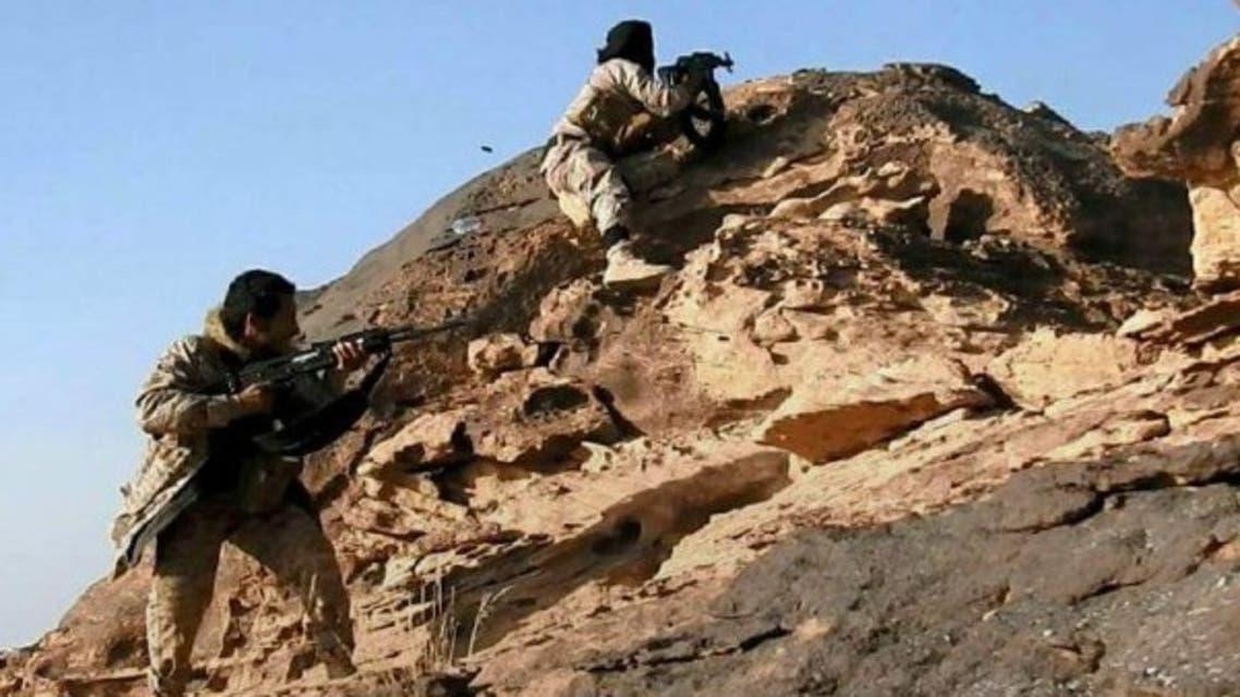 الجيش اليمني في جبل يفع بمديرية باقم بعد تحريرها