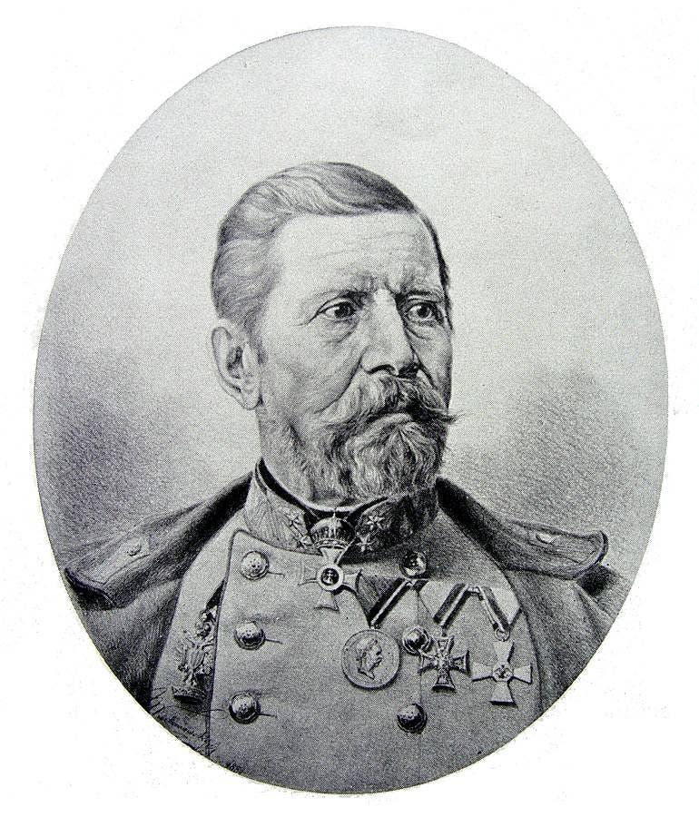 ژنرال رادیسکی فرمانده نیروهای اتریشی