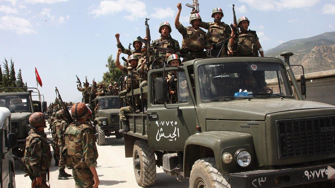 assad syria army. (AP)