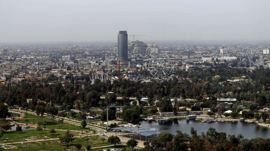 Baghdad Iraq aerial view. (Reuters)