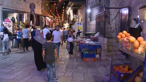 أجواء مدينة القدس في رمضان