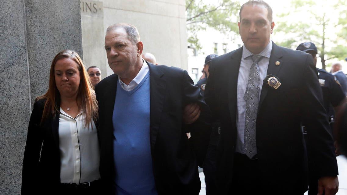Film producer Harvey Weinstein arrives at Manhattan Criminal Court in New York, U.S., May 25, 2018. REUTERS/Shannon Stapleton