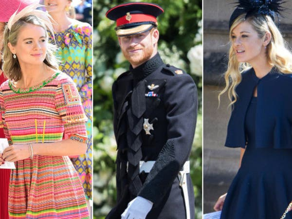 صور.. هؤلاء كن على علاقة مع هاري وحضرن الزواج الملكي
