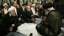 تصویریں بولتی ہیں ۔۔ کیا ایرانی مرشد اعلیٰ حکومتی اہلکاروں سے خوفزدہ ہیں؟