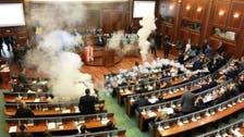 کوسوو : پارلیمنٹ میں اپوزیشن کی جانب سے آنسو گیس کا استعمال