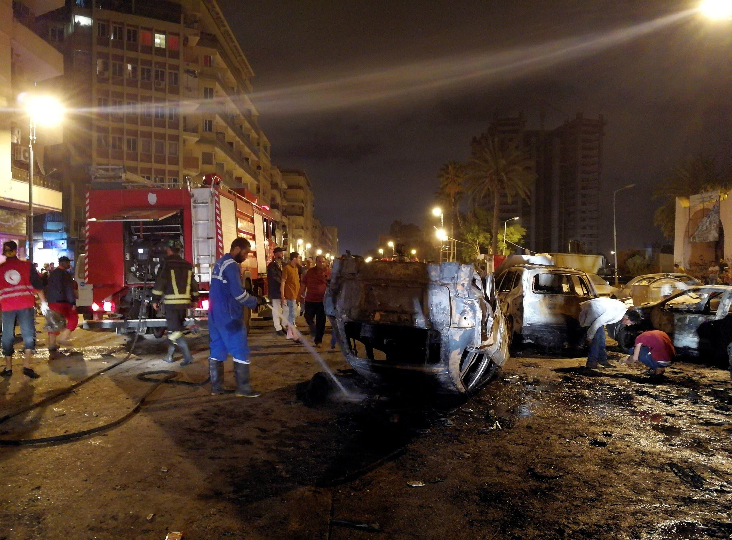 Libya benghazi attack. (Reuters)