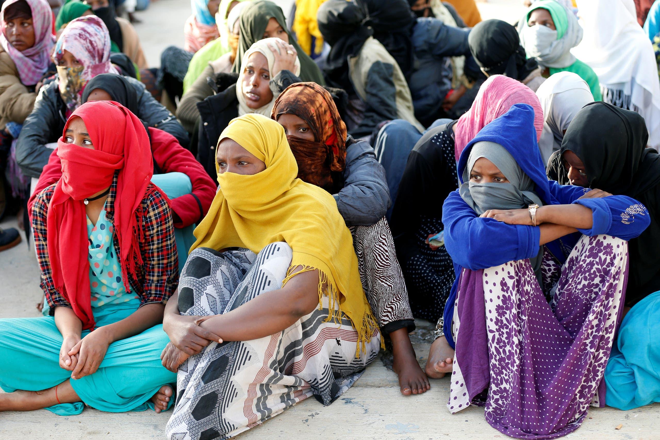 libya migrants. (Reuters)
