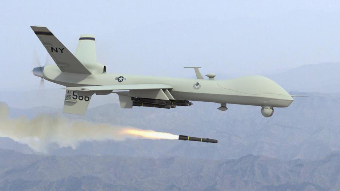 هواپیمای بدون سرنشین امریکایی مواضع طالبان در ننگرها را بمباران کرد