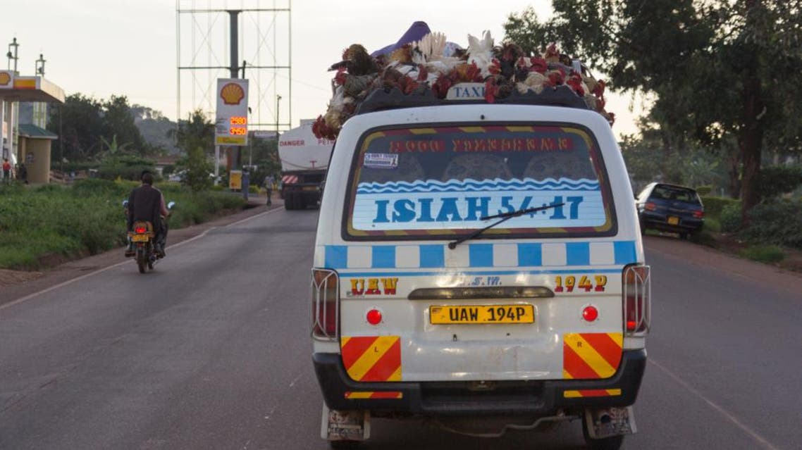 Uganda taxi (Shutterstock)
