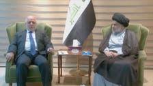 عراق : الصدر اور العبادی حکومت کے لیے اتحاد کی تشکیل کے قریب