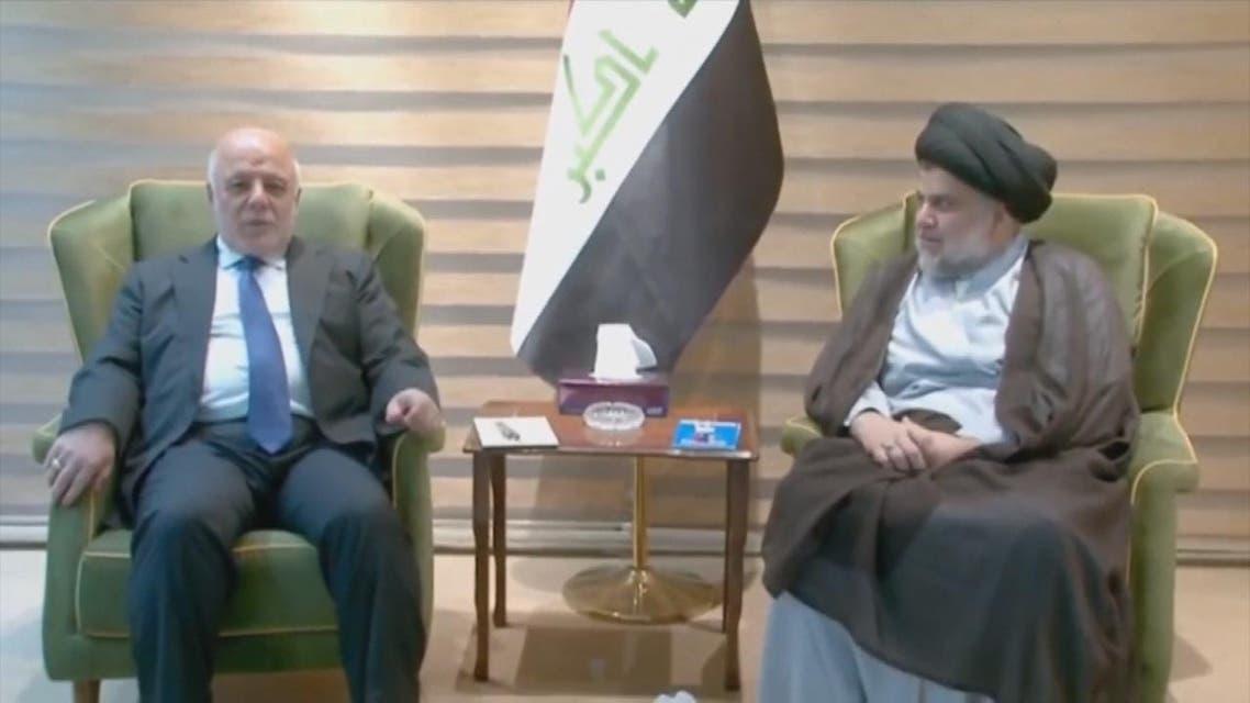 THUMBNAIL_ العبادي والصدر يقتربان من إعلان تشكيل تحالف يضم كتلا سنية وكردية