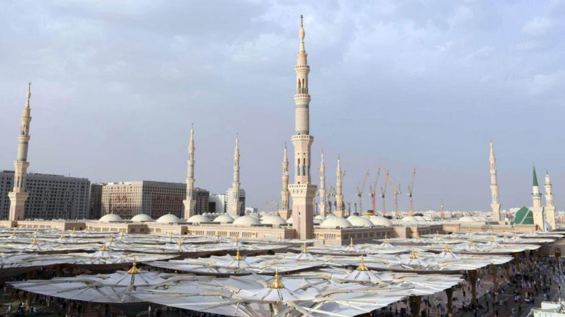 minarets prophet mosque. (SPA)